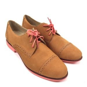 Cole Haan Gramercy Women's Sz 9 Oxford Tan Nubuck